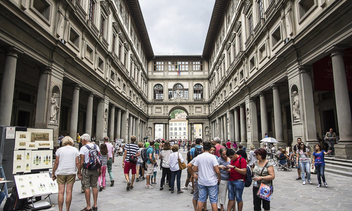 uffizi gallery florence museums galleries