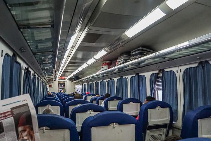 day train ac1 cairo to luxor