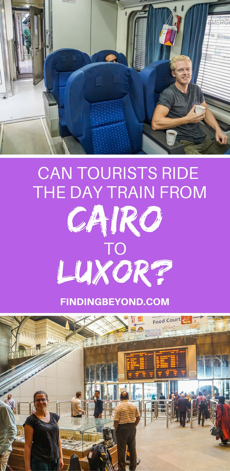 If you're a tourist and looking to ride the day train from Cairo to Luxor in Egypt, read our article on how to easily buy tickets for a stress-free journey.
