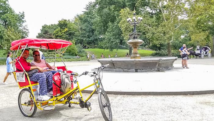 peddal cab central park