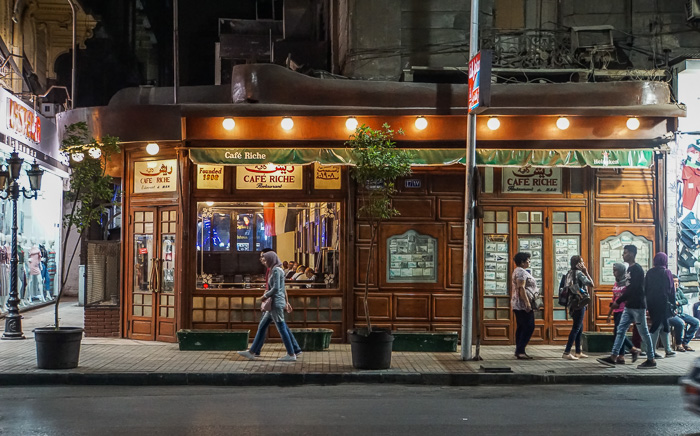 Things to do in Downtown Cairo - Cafe Riche
