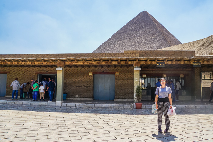pyramids of giza ticket office