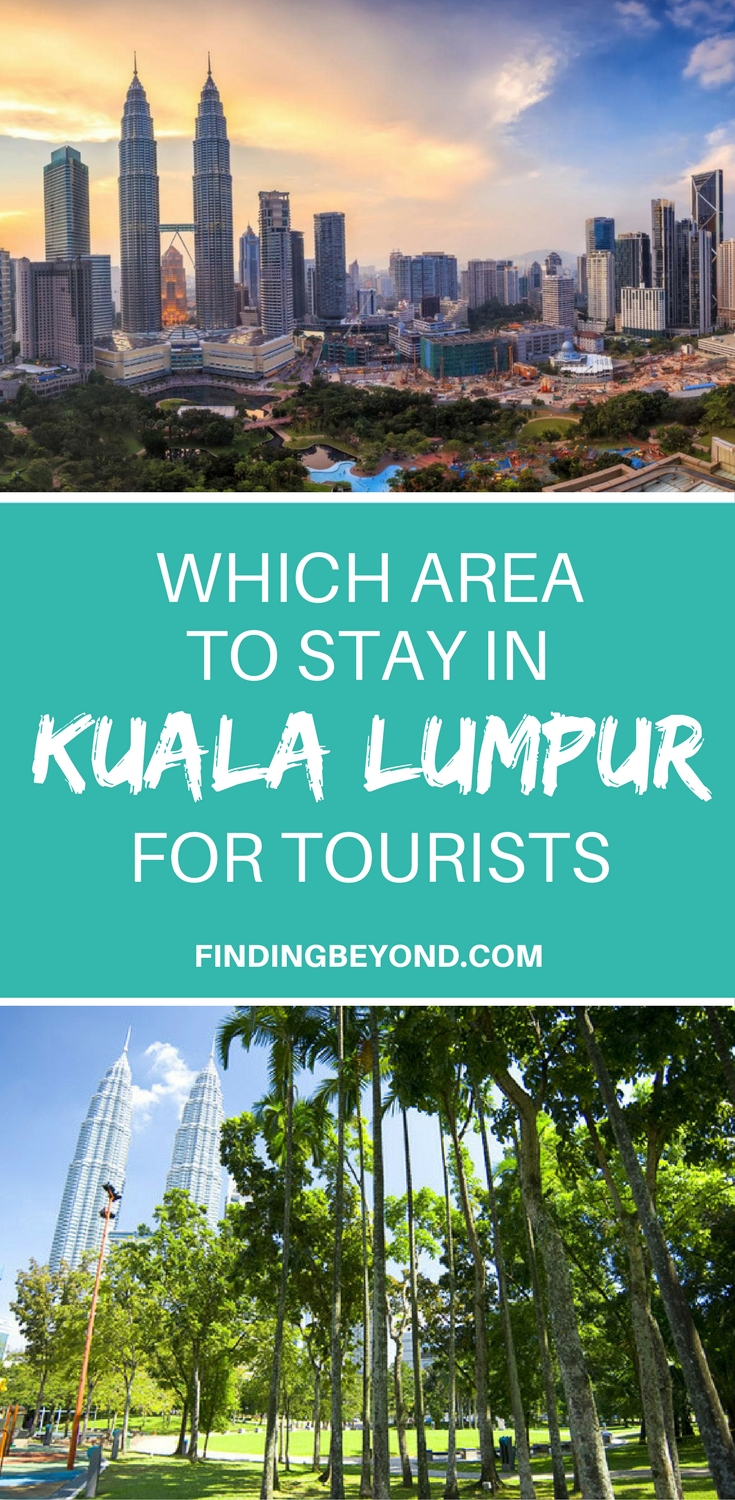 Are you in the process of choosing which area to stay In Kuala Lumpur? Read this article to learn about the 4 main tourist areas in the Malaysian capital.