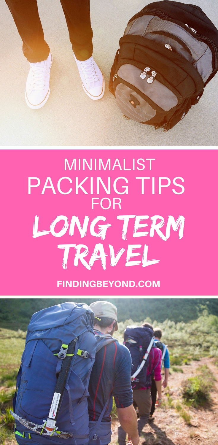 Looking for help with how to pack light for long term travel? Then check out these tips from two backpackers who have been on the road for two years.