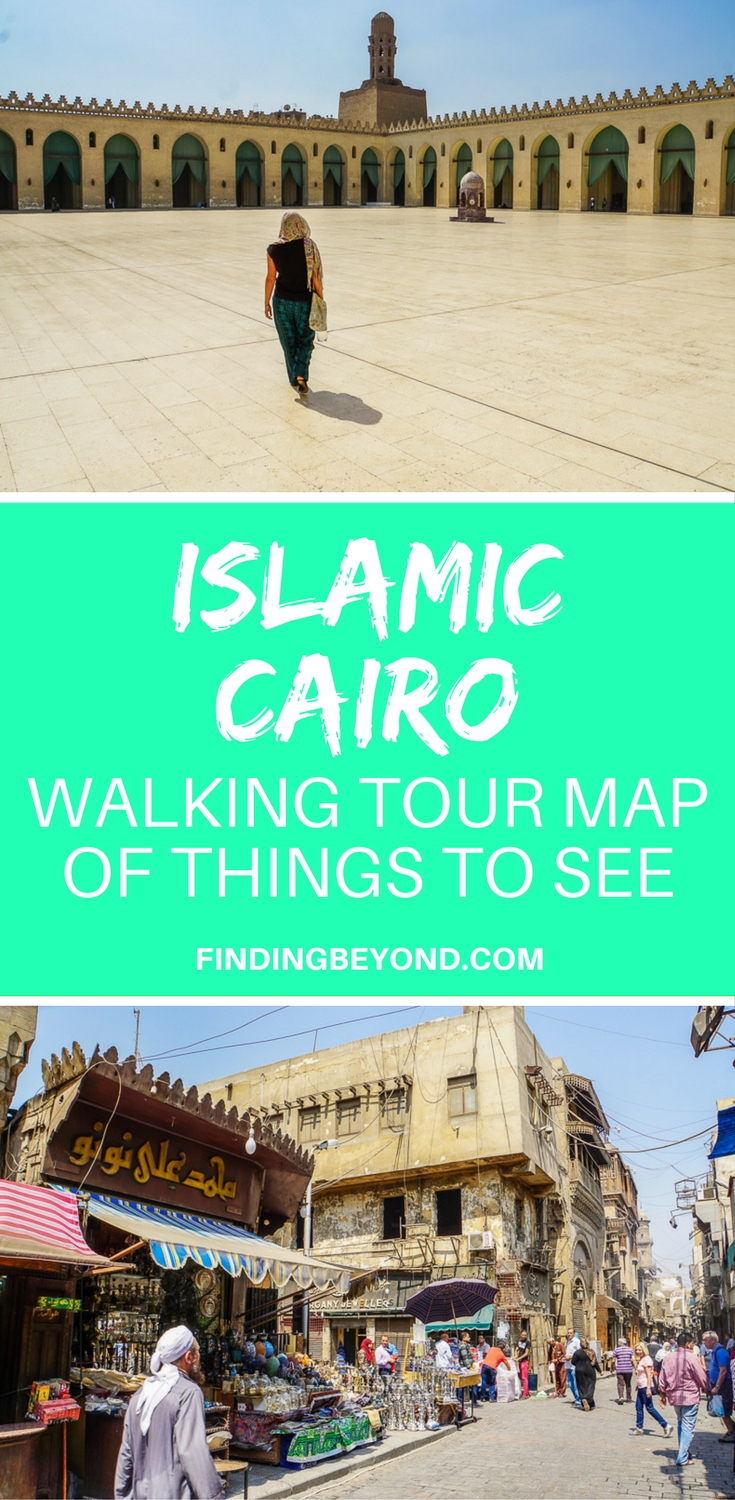 Islamic Cairo is a fascinating area of Old Cairo but it's easy to get lost without our Islamic Cairo walking tour map - a guide for the best things to see.