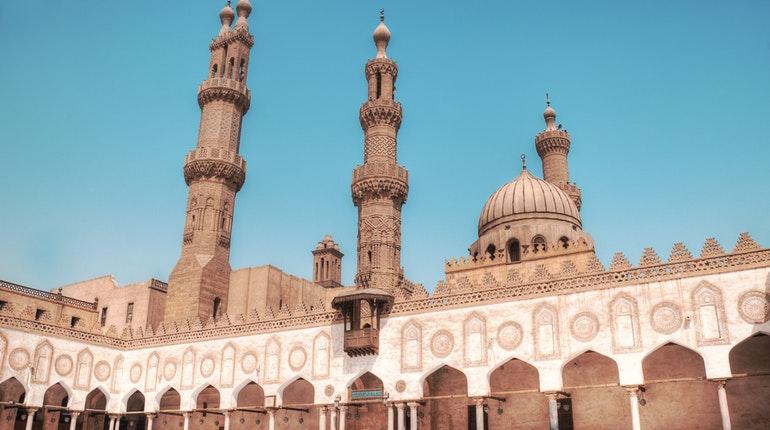 Al Azhar Mosque Islamic Cairo