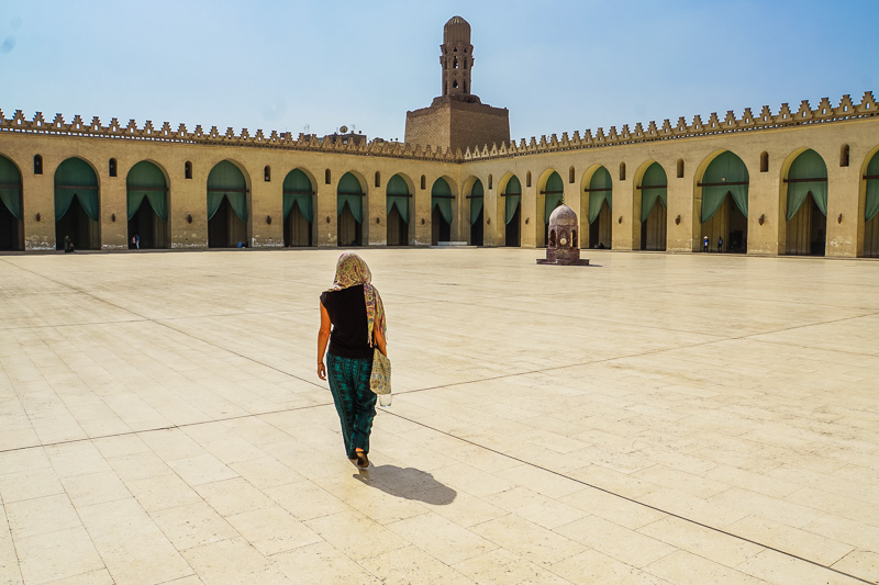 Al Hakim Mosque Islamic Cairo Walking Tour