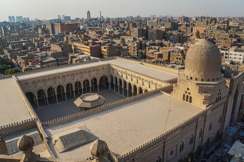 Bab Zuwayla Views Islamic Cairo Walking Tour Map