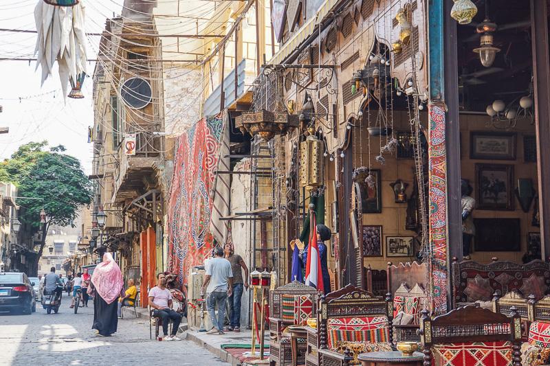 Cafe al Lord- Islamic Cairo Walking Tour Map