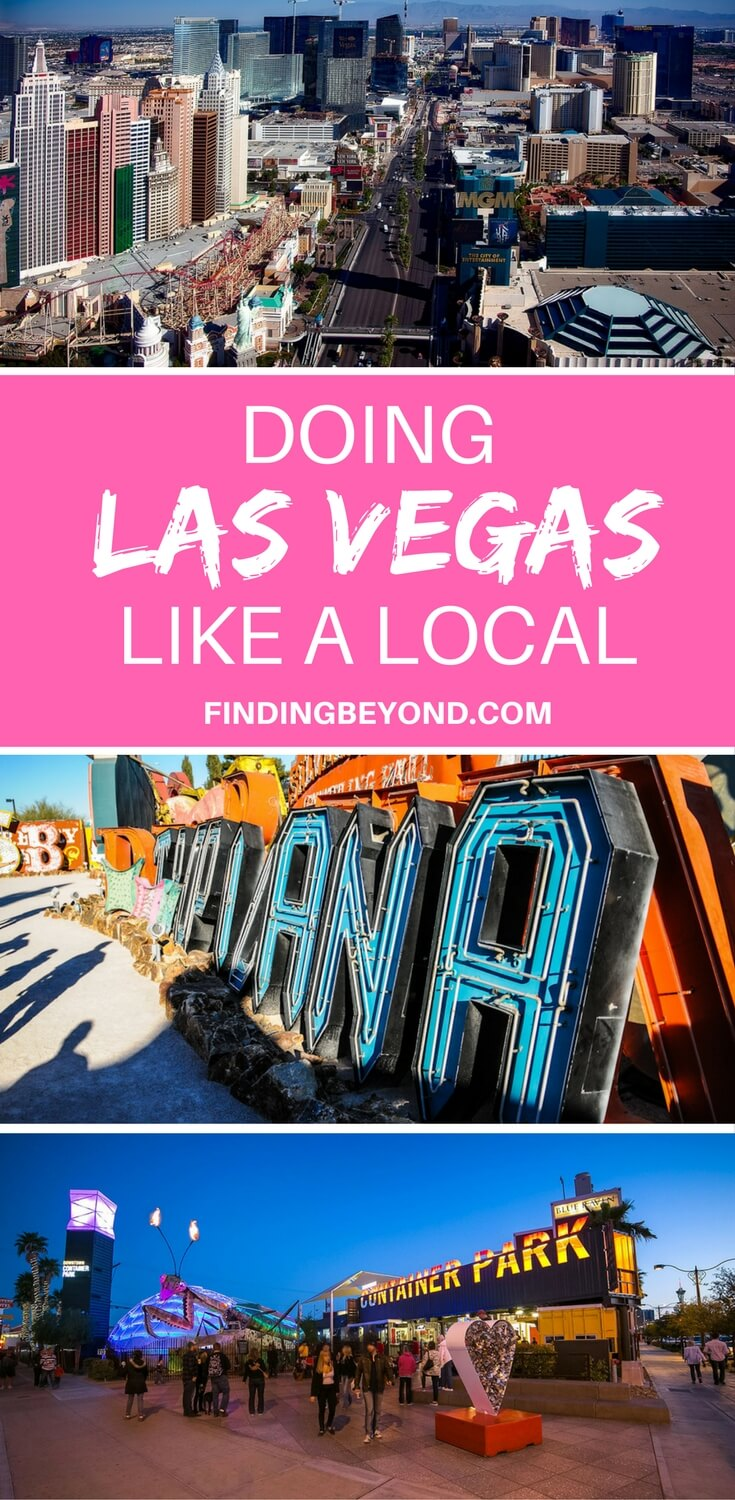 Why not make the most of your trip to Las Vegas by cutting out the tourist traps and experiencing this incredible city like a local?