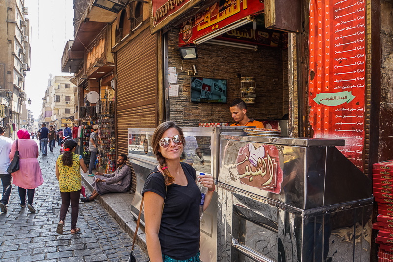 Flakey Pizza Islamic Cairo Walking Tour Map