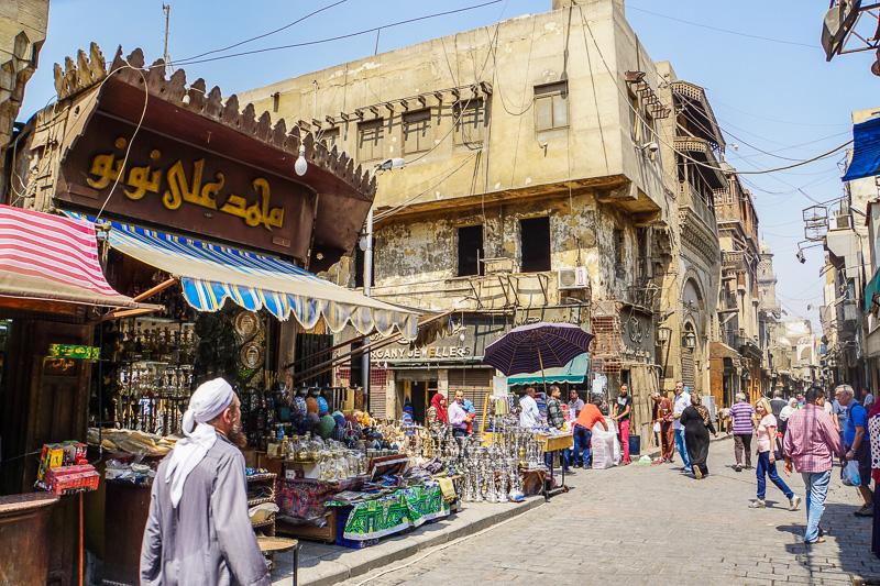 Islamic Cairo El Moez Street Muizz