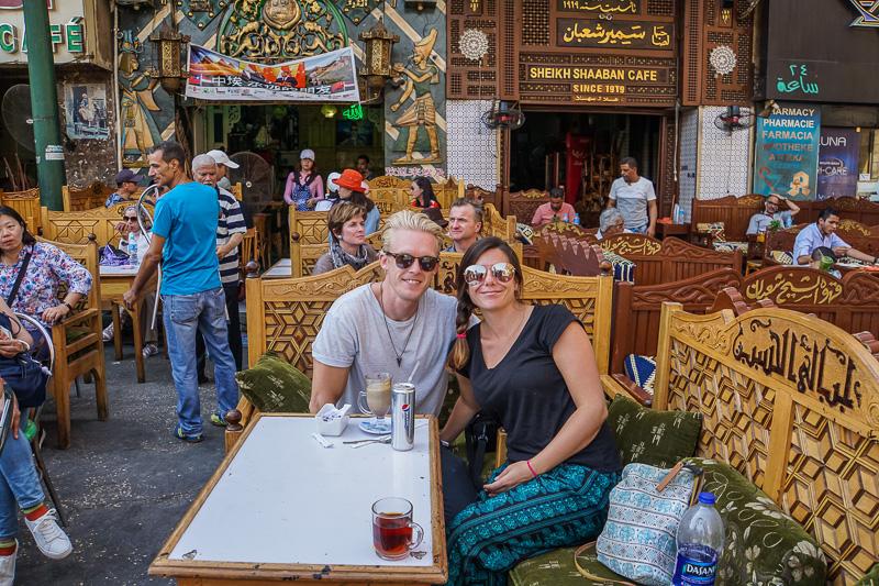 Islamic Cairo Walking Tour Coffee Shop Stop