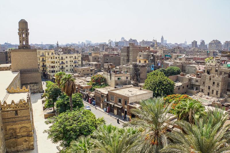 Islamic Cairo Walking Tour Map Gates