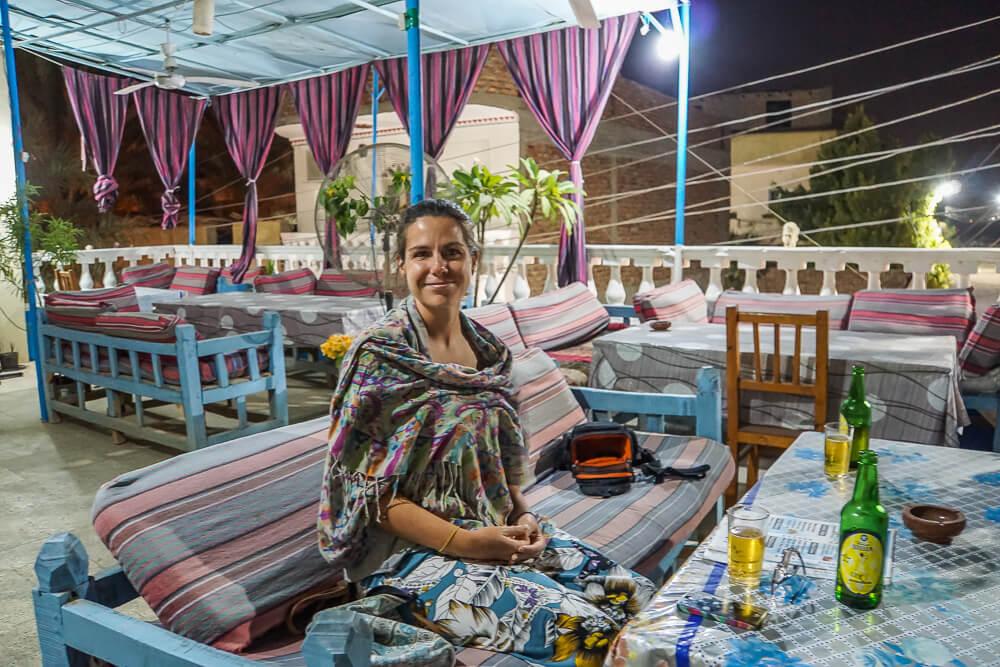 Luxor West Bank Blue Sky Restaurant