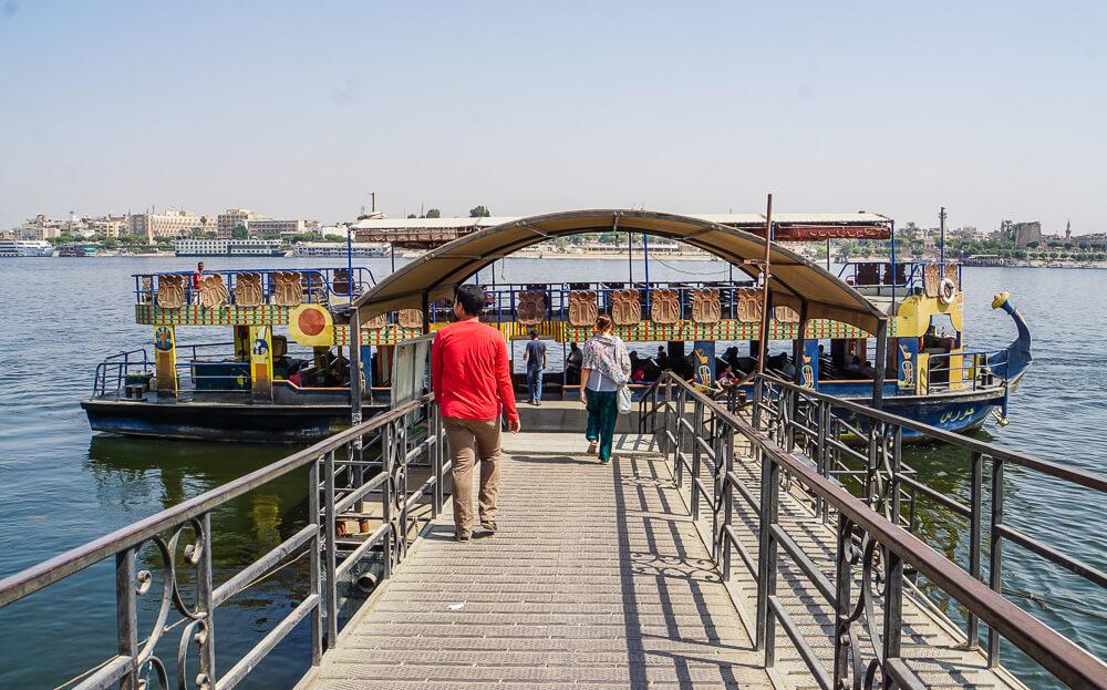 Luxor West Bank Public Ferry