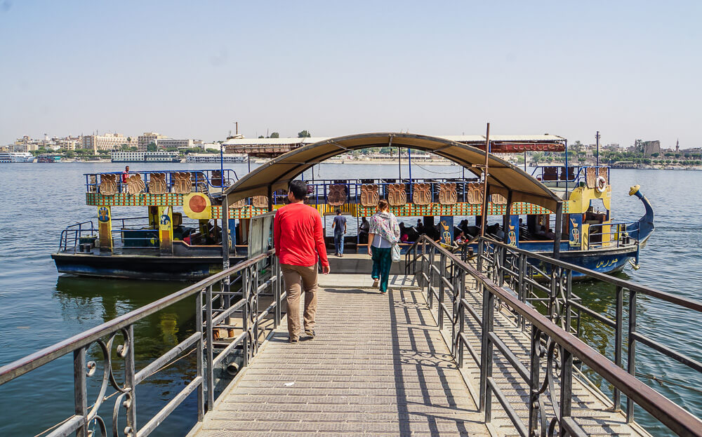 Luxor West Bank Public Ferry