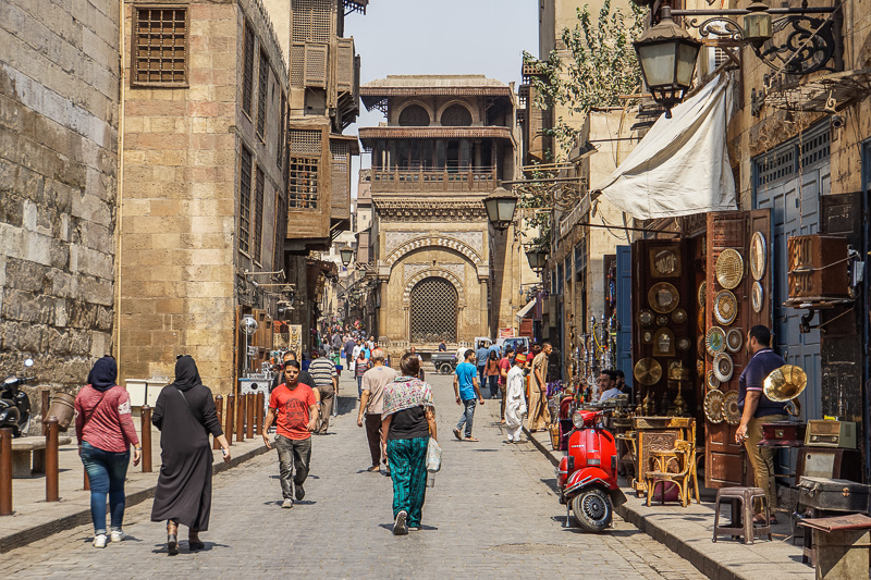 Sabil Kuttab of Katkhuda Islamic Cairo Walking