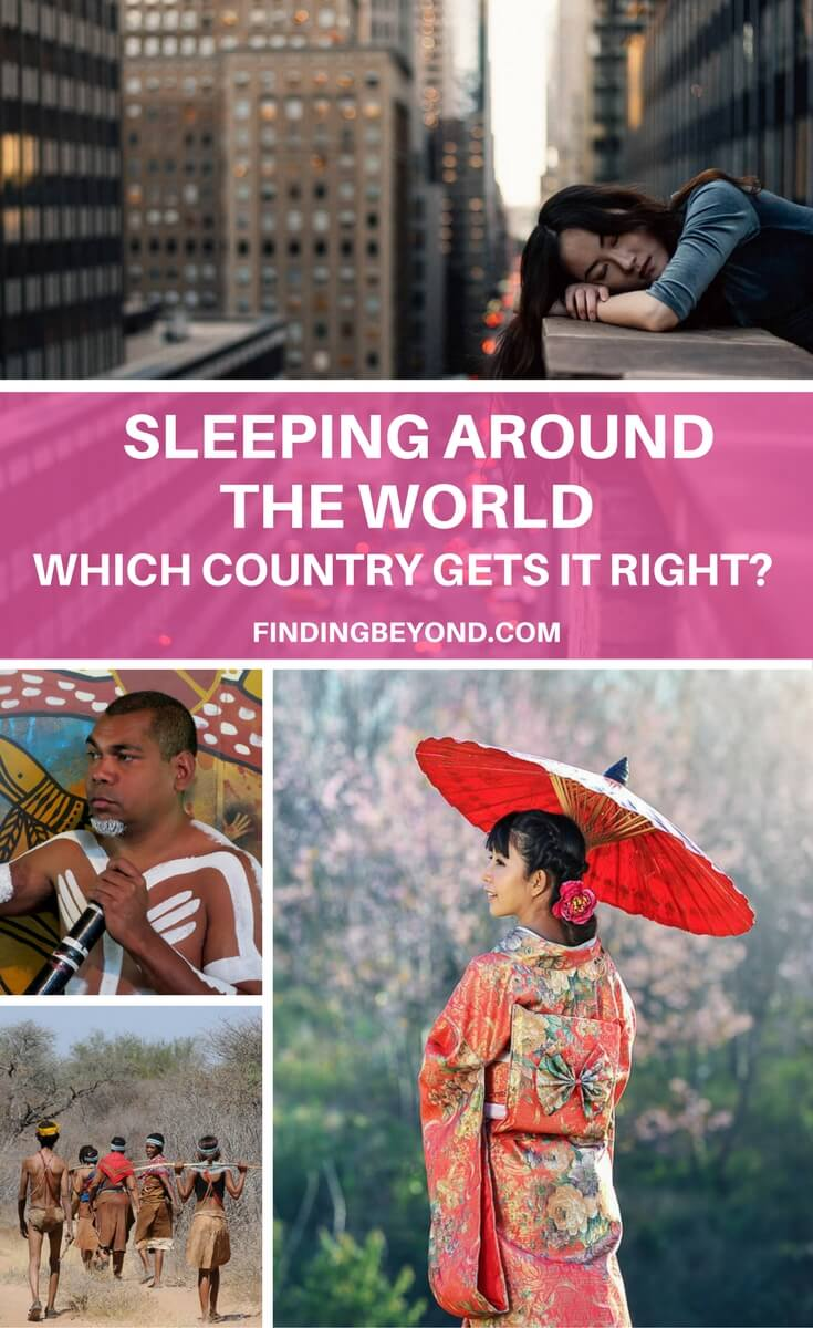 Did you know that countries around the world have totally different attitudes to sleep, not everyone sleeps only once the sun goes down.