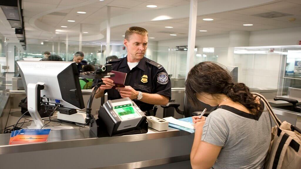 border protection airport