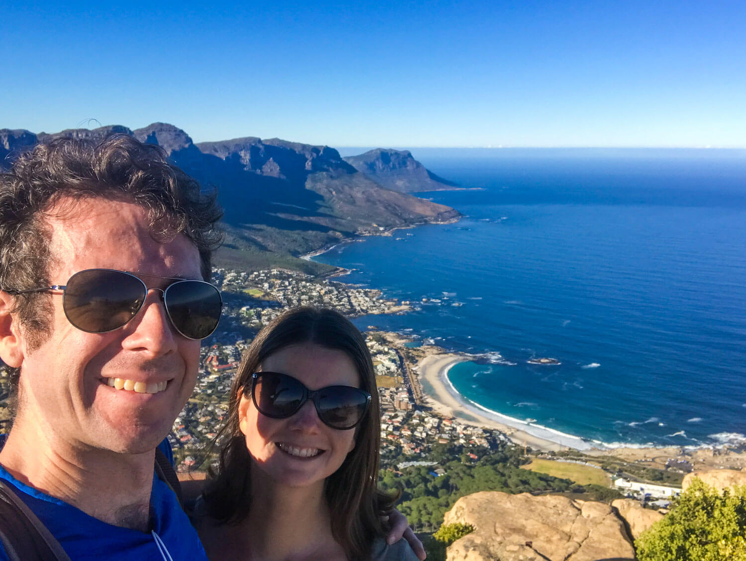 At Lions Head, Cape Town