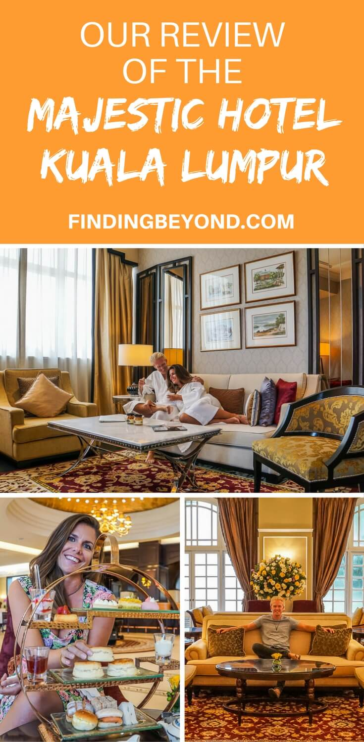 Read our review of the Majestic Hotel Kuala Lumpur including our Governor Suite, all restaurants, afternoon tea, spa experience and the buffet.