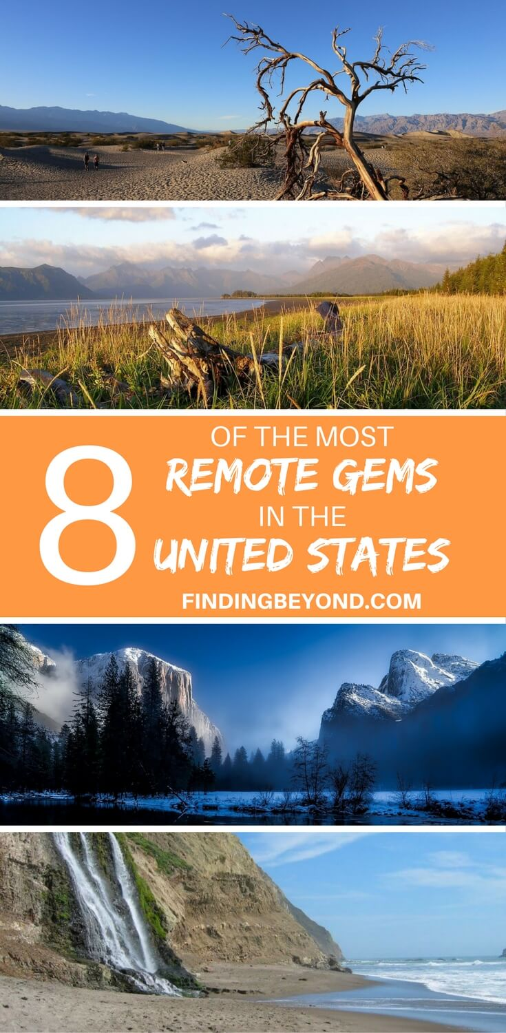 If you're looking to get off the beaten path in the United States to explore beautiful landscapes then check out our list of remote gems you shouldn't miss.