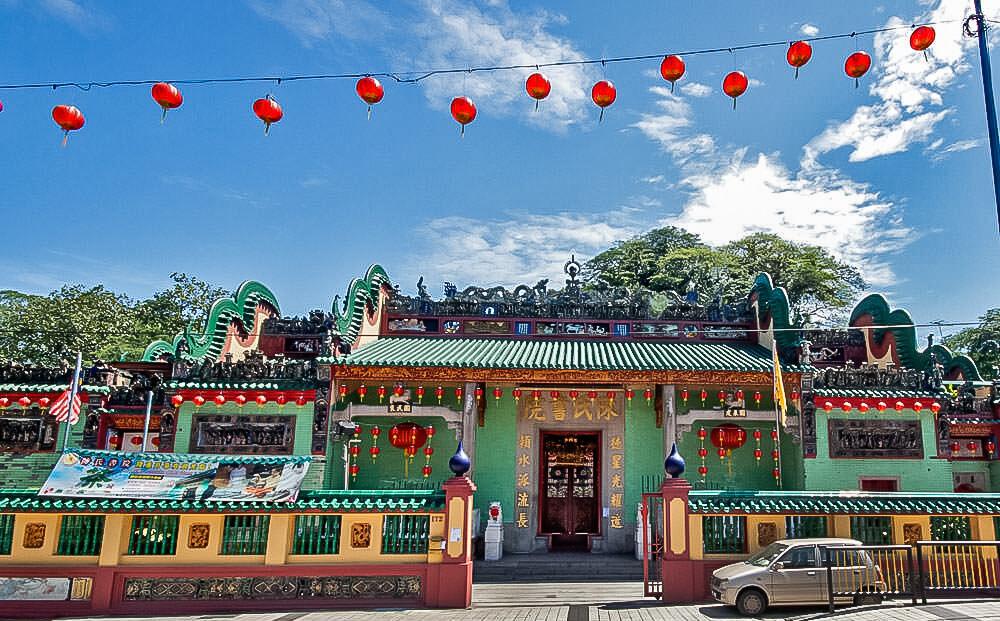 chinatown kuala lumpur chan see shu yuen temple