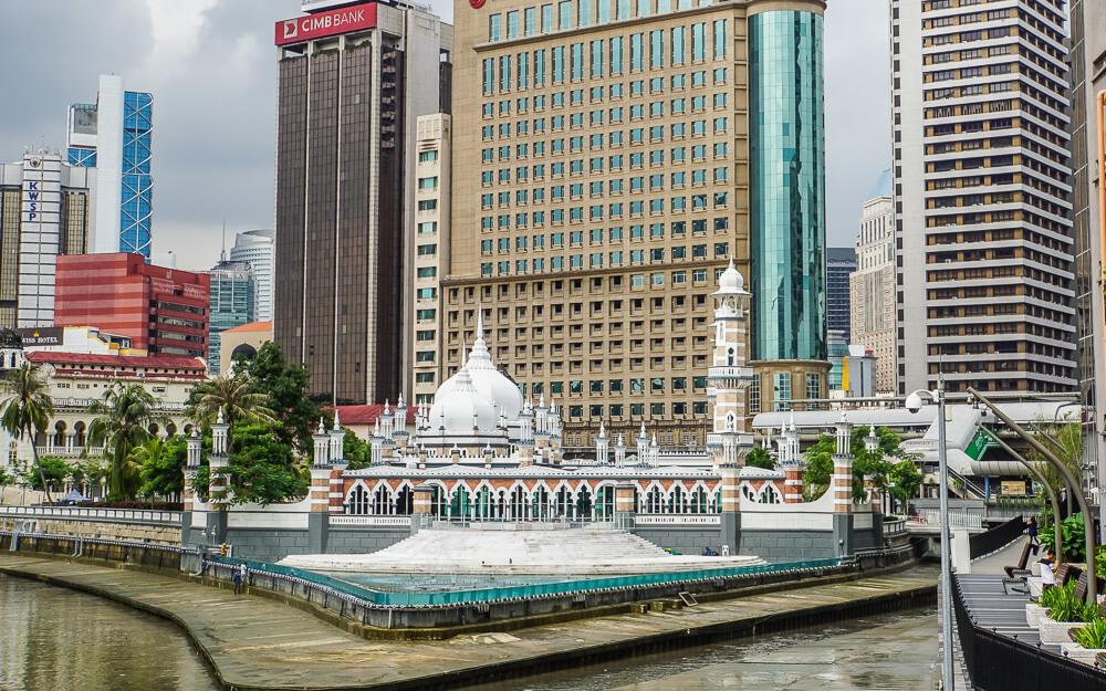 chinatown kuala lumpur mosque