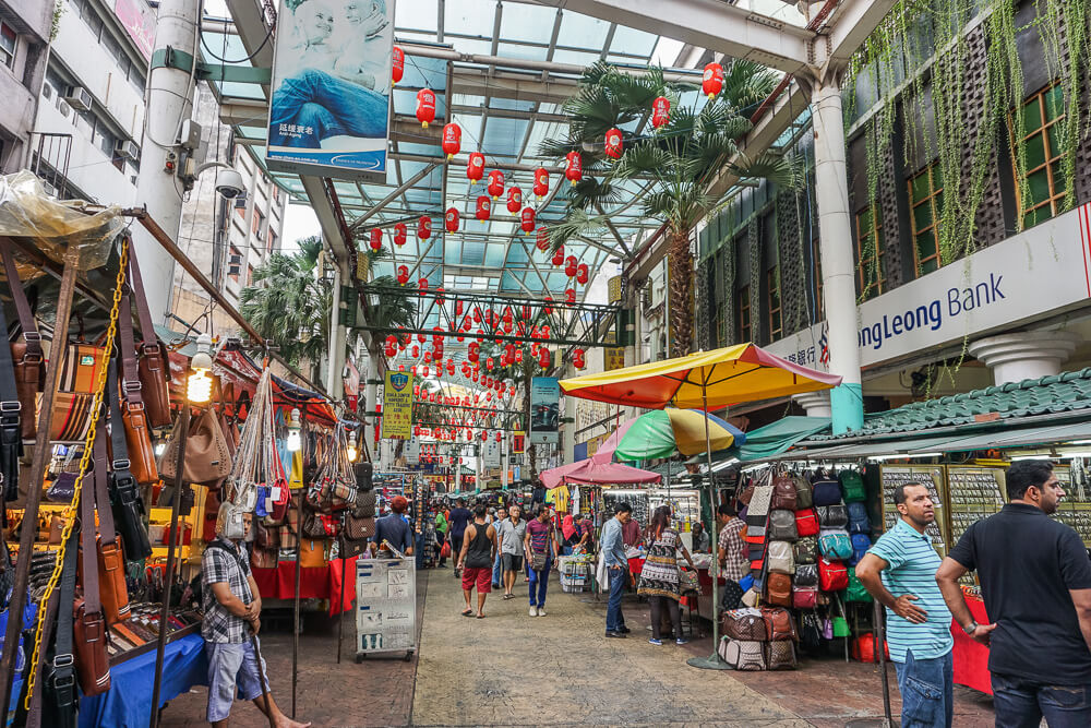chinatown kuala lumpur petaling street market