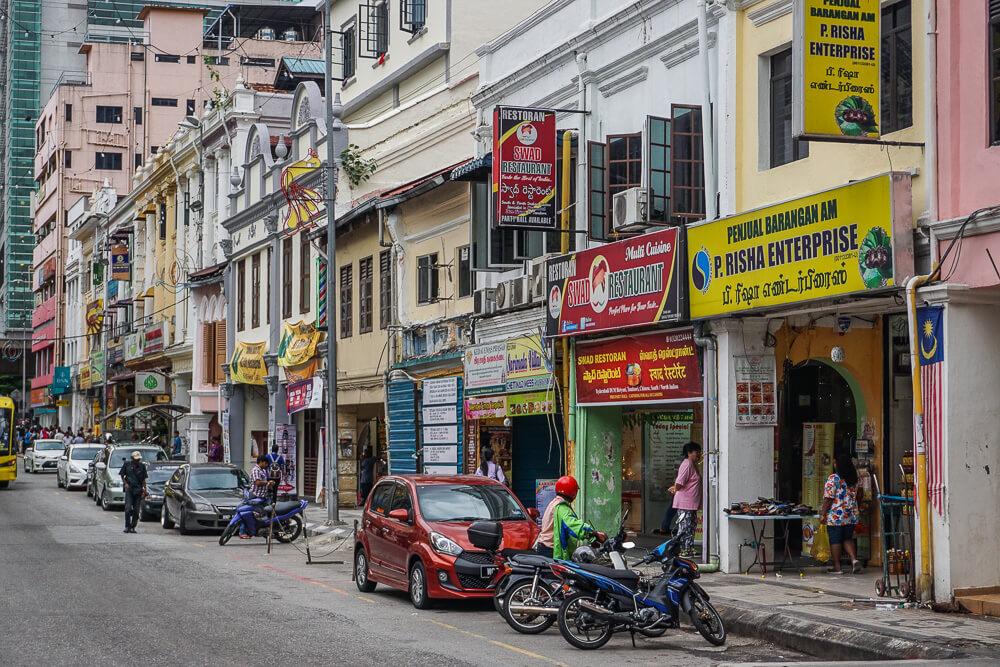 chinatown kuala lumpur shop houses
