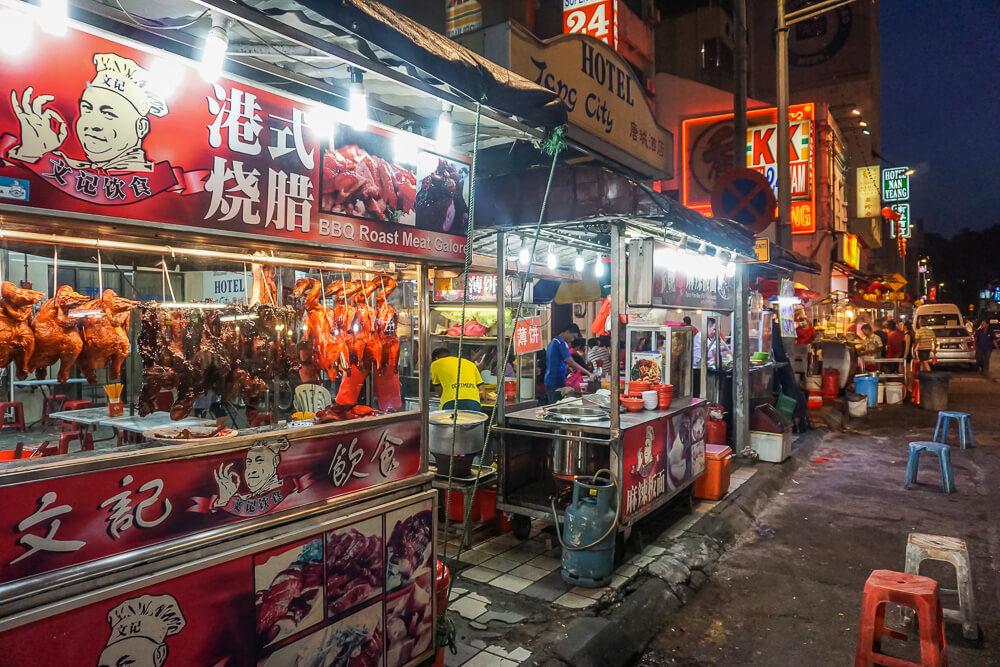 chinatown kuala lumpur street food