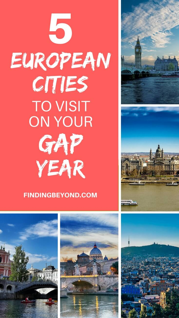 Looking for some gap year travel inspiration? Check out these 5 amazing European cities that everyone should visit on their once in a lifetime year away.