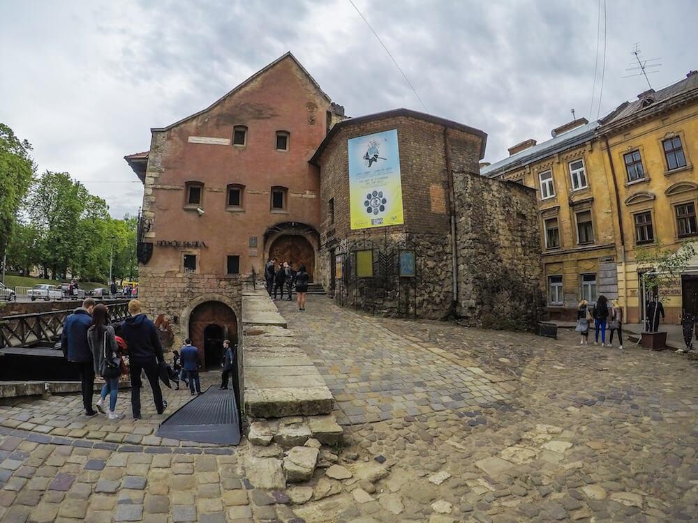 lviv old town arsenal museum