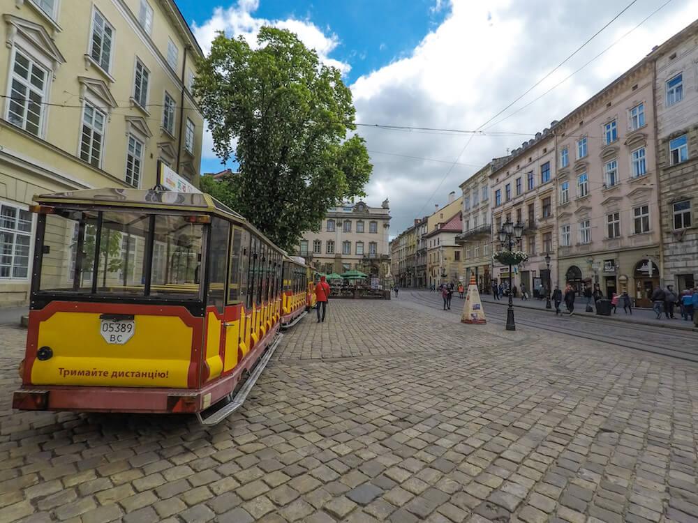 lviv old town square