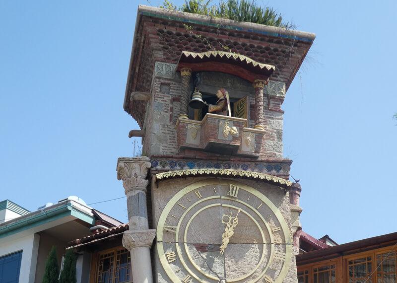Gabriadze Theatre Clock Old Town Tbilisi