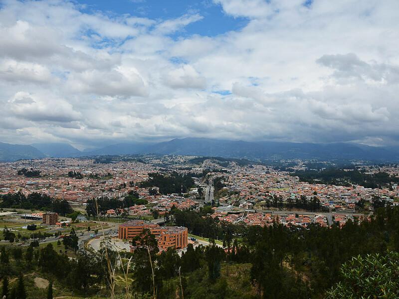 Cuenca Ecuador City View