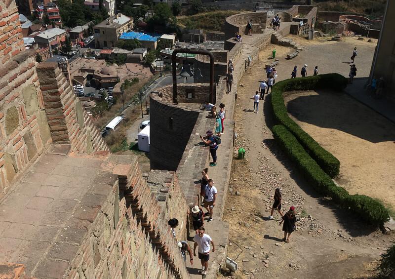 Narikala Fortress Walls Tbilisi