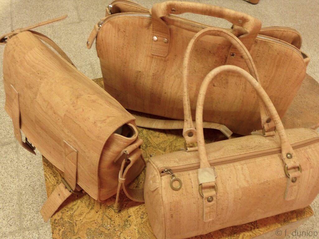 Portuguese cork bag