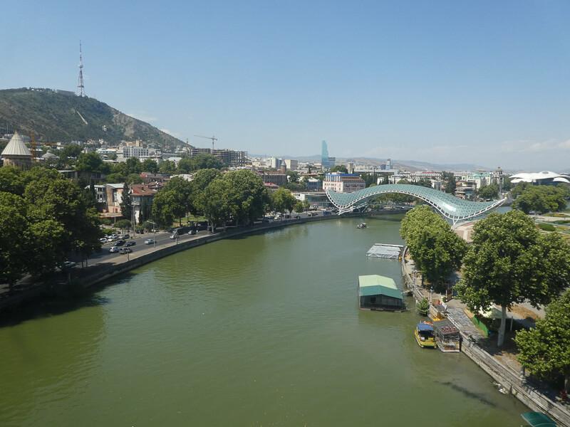 The Peace Bridge Tbilisi