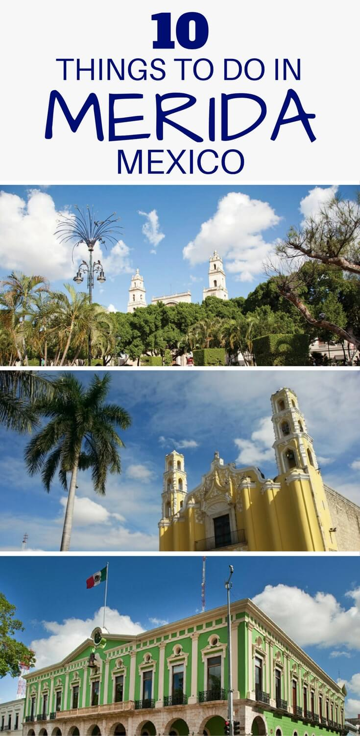 Looking for things to do in Merida Old Town, Mexico? Check out our list of the 10 best sights, attractions and highlights in the historic city.