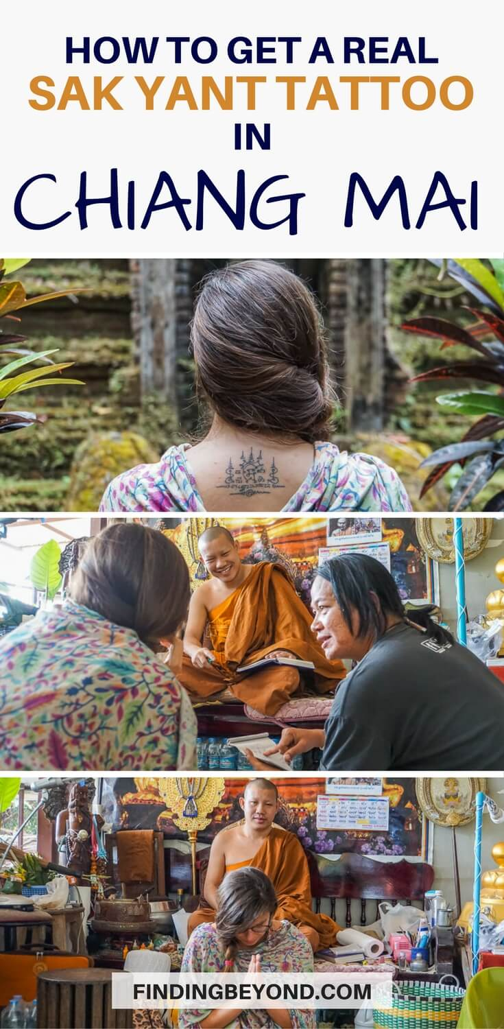 Are you thinking about getting a traditional Sak Yant tattoo in Chiang Mai? Make sure to read about my experience before deciding where to get it done.