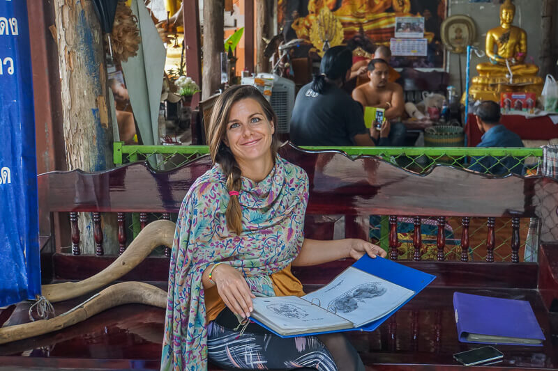 How To Get A Real Sak Yant Tattoo in Chiang Mai | Finding Beyond