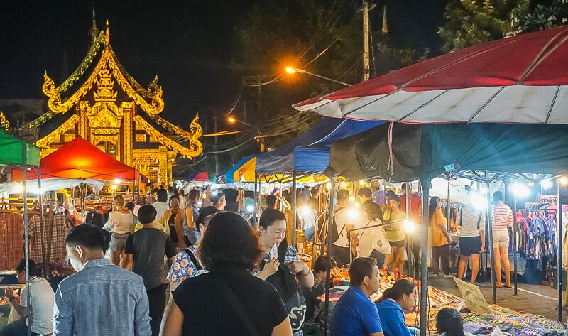 northern thailand chiang mai market