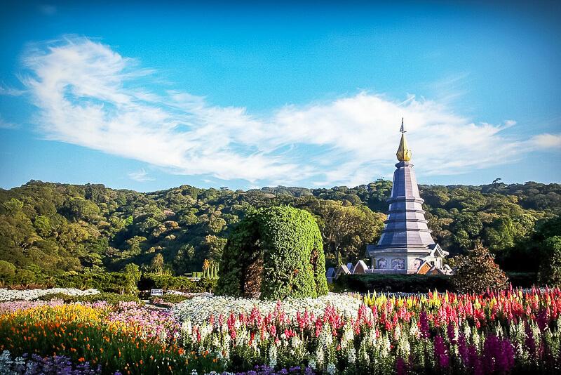 northern thailand doi inthanon national park