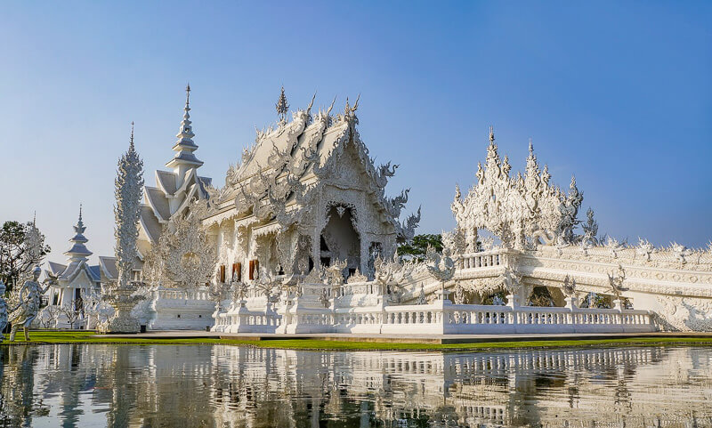 northern thailand white temple