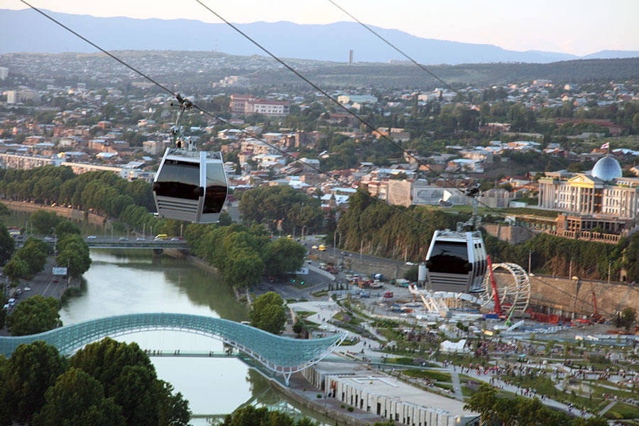 tbilisi cable car