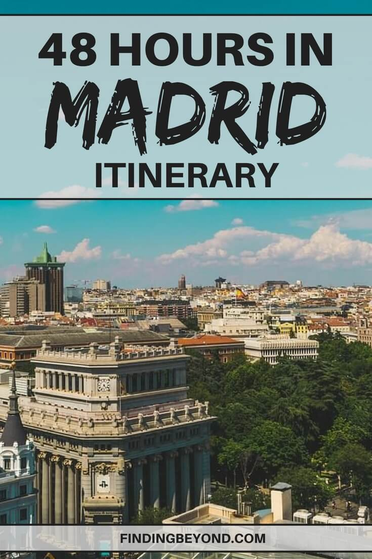 Do you only have 2 days in Madrid? Don't miss the best highlights by using our 48 hours in Madrid itinerary. Including the must-see Madrid sights and more.