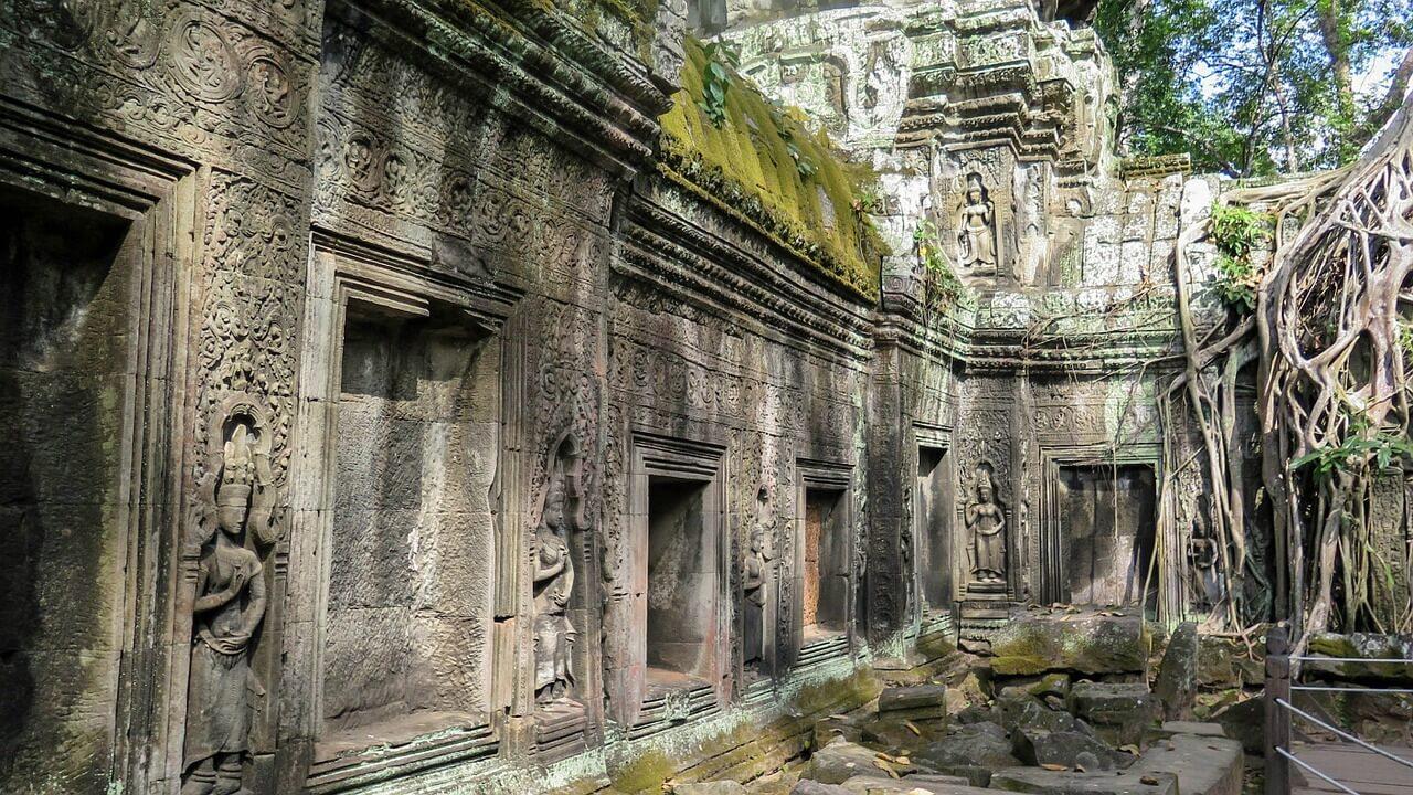 Ta Prohm temple