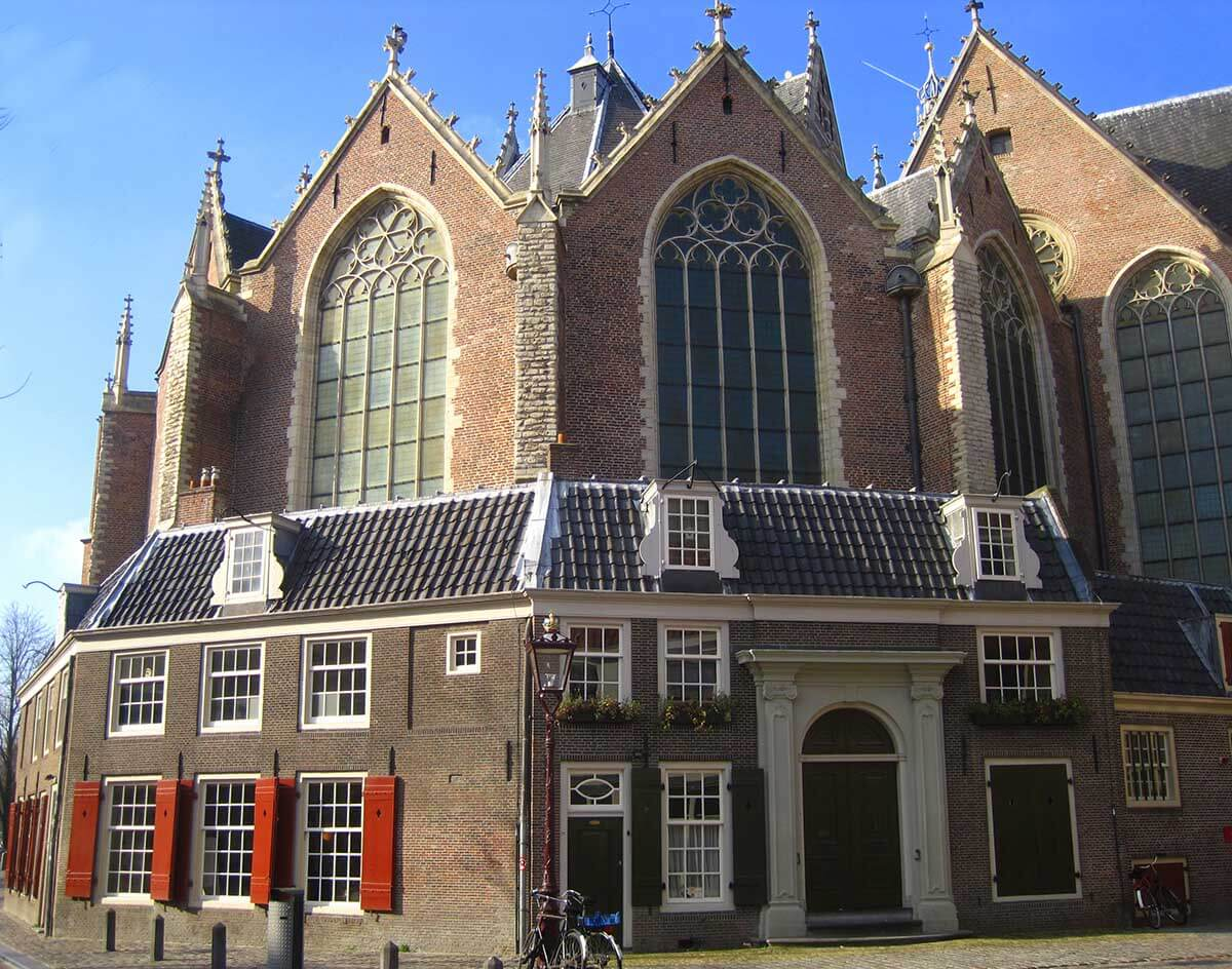 amsterdam oude kerk